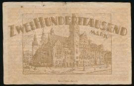 Хемниц., 200000 марок (1923 г.)
