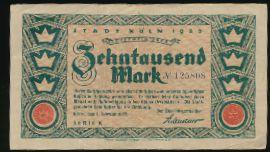 Кёльн., 10000 марок (1923 г.)