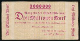 Веймар., 3000000 марок (1923 г.)
