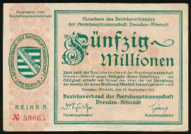 Дрезден., 50000000 марок (1923 г.)
