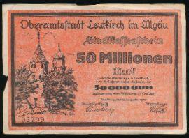 Лойткирх., 50000000 марок (1923 г.)