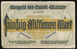 Майнц., 50000000 марок (1923 г.)