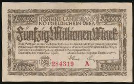 Дармштадт., 50000000 марок (1923 г.)