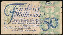 Фрайталь., 50000000 марок (1923 г.)