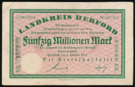 Херфорд., 50000000 марок (1923 г.)