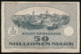 Ремшайд., 50000000 марок (1923 г.)