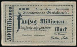 Ланштайн., 50000000 марок (1923 г.)