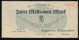 Берлин., 2000000 марок (1923 г.)