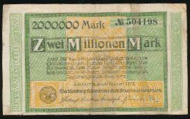 Шверин., 2000000 марок (1923 г.)
