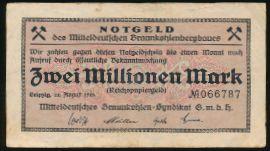 Лейпциг., 2000000 марок (1923 г.)