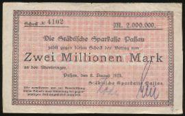 Пассау., 2000000 марок (1923 г.)