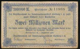 Штольберг., 2000000 марок (1923 г.)