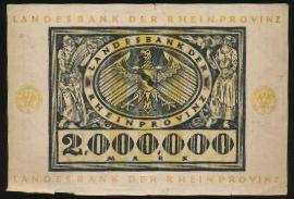 Дюссельдорф., 2000000 марок (1923 г.)