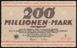 Дортмунд., 200000000 марок (1923 г.)