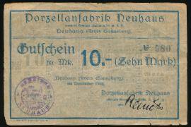 Зоннеберг., 10 марок (1918 г.)