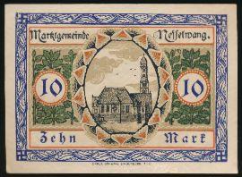 Линденберг-им-Алльгой., 10 марок (1918 г.)