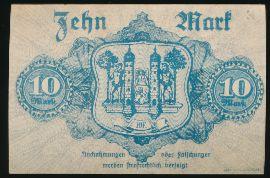 Хоф., 10 марок (1918 г.)