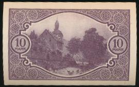 Мосбах., 10 марок (1919 г.)