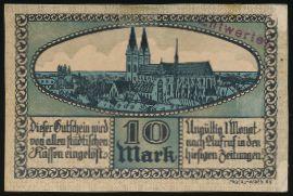 Хальберштадт., 10 марок (1918 г.)