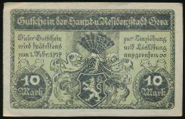 Бера., 10 марок (1919 г.)