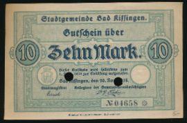 Швайнфурт., 10 марок (1918 г.)