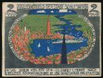 Шлезвиг., 2 марки (1918 г.)