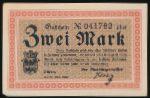 Дюрен., 2 марки (1918 г.)