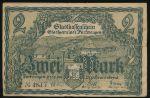 Фуртванген в Шварцвальде., 2 марки (1918 г.)