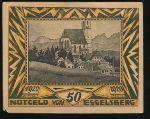 Эггельсберг., 50 геллеров (1920 г.)