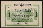 Херсфельд., 1 марка (1918 г.)