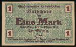 Баден-Баден., 1 марка (1918 г.)