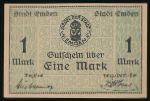 Эмден., 1 марка (1919 г.)