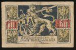 Иберлинген., 1 марка (1918 г.)