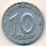 ГДР, 10 пфеннигов (1948–1949 г.)