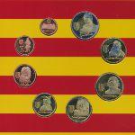 Каталония, Набор монет (2014 г.)