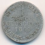 Гессен-Кассель, 1 грош (1841 г.)