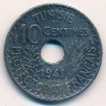 Тунис, 10 сентим (1941 г.)
