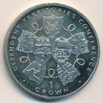 Гибралтар, 1 крона (1993 г.)