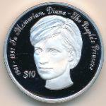 Сьерра-Леоне, 10 долларов (1998 г.)