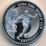 Сьерра-Леоне, 10 долларов (2004 г.)