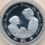 Сьерра-Леоне, 10 долларов (1997 г.)