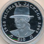 Сьерра-Леоне, 10 долларов (2009 г.)