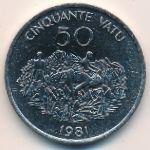 Вануату, 50 вату (1981 г.)