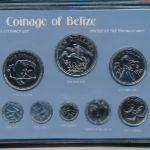 Белиз, Набор монет (1981 г.)