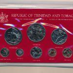 Тринидад и Тобаго, Набор монет (1981 г.)