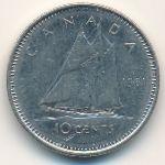 Канада, 10 центов (1981 г.)
