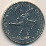 Гернси, 25 пенсов (1972 г.)