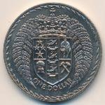 Новая Зеландия, 1 доллар (1971–1976 г.)