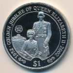 Сьерра-Леоне, 1 доллар (2002 г.)
