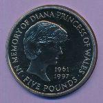 Великобритания, 5 фунтов (1999 г.)